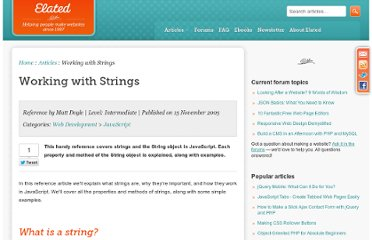 http://www.elated.com/articles/working-with-strings/