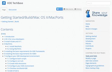http://techbase.kde.org/Getting_Started/Build/Mac_OS_X/MacPorts