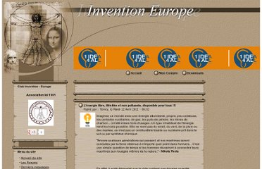 http://www.invention-europe.com/Article627339.htm