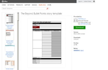 http://office.microsoft.com/en-us/templates/the-beyond-bullet-points-story-template-TC001192765.aspx