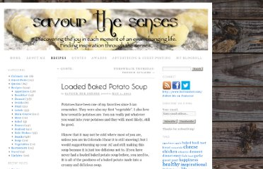 http://savourthesensesblog.com/loaded-baked-potato-soup/
