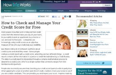 http://www.howlifeworks.com/finance/How_to_Check_and_Manage_Your_Credit_Score_for_Free_111?AG_ID=1101&cid=7340bd