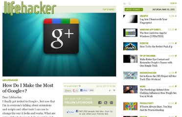 http://lifehacker.com/5822167/how-do-i-make-the-most-of-google%252B