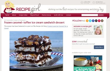 http://www.recipegirl.com/2007/07/29/frozen-caramel-toffee-ice-cream-sandwich-dessert/