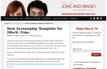 http://www.jokeandbiagio.com/new-screenplay-template-for-iwork-free