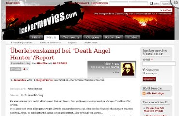 http://www.hackermovies.com/501478/berlebenskampf-bei-death-angel-hunter-report
