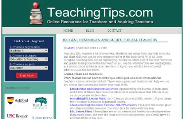 http://www.teachingtips.com/blog/2008/06/24/100-best-resources-and-guides-for-esl-teachers/
