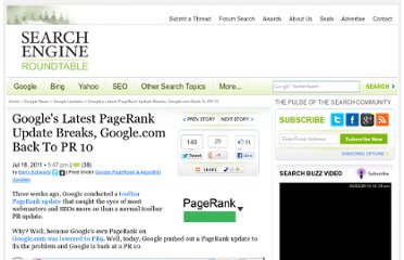 http://www.seroundtable.com/google-toolbar-pagerank-fix-13721.html