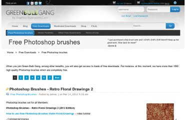 http://www.greenbulbgang.com/photoshop-brushes