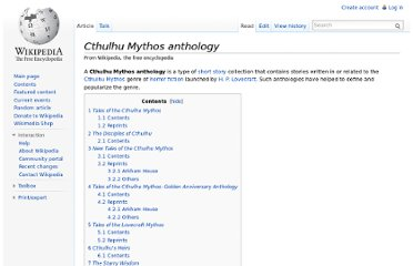 http://en.wikipedia.org/wiki/Cthulhu_Mythos_anthology