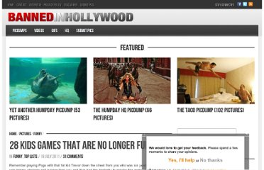 http://www.bannedinhollywood.com/28-kids-games-no-longer-fun/