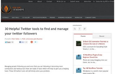 http://www.webanddesigners.com/30-helpful-twitter-tools-to-find-and-manage-your-twitter-followers/