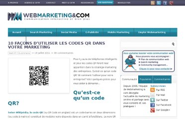http://www.webmarketing-com.com/2011/07/19/10244-10-facons-dutiliser-les-codes-qr-dans-votre-marketing