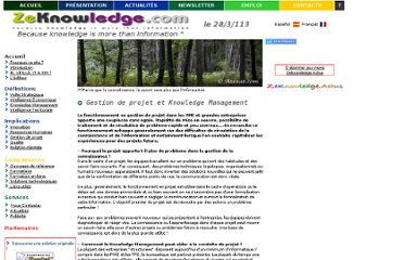 http://www.zeknowledge.com/projet_knowledge_management.htm
