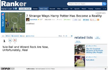 http://www.ranker.com/list/7-strange-ways-harry-potter-has-become-a-reality/saintmort