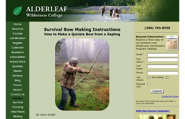 http://www.wildernesscollege.com/bow-making-instructions.html