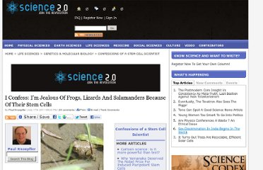 http://www.science20.com/confessions_stem_cell_scientist/i_confess_im_jealous_frogs_lizards_and_salamanders_because_their_stem_cells-80922