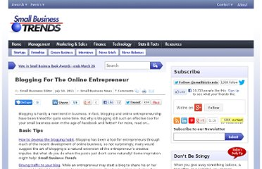 http://smallbiztrends.com/2011/07/blogging-for-the-online-entrepreneur.html