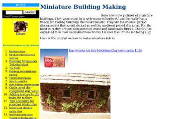 http://www.stormthecastle.com/miniatures/making-miniature-buildings.htm