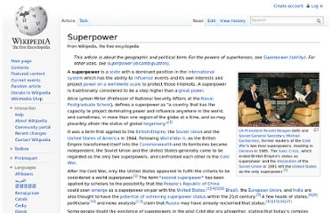http://en.wikipedia.org/wiki/Superpower