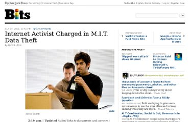http://bits.blogs.nytimes.com/2011/07/19/reddit-co-founder-charged-with-data-theft/