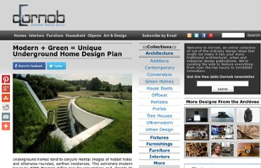 http://dornob.com/underground-home-modern-house-with-a-green-roof/
