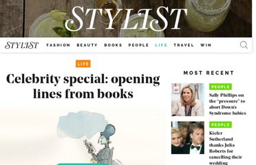 http://www.stylist.co.uk/life/the-best-100-opening-lines-from-books#