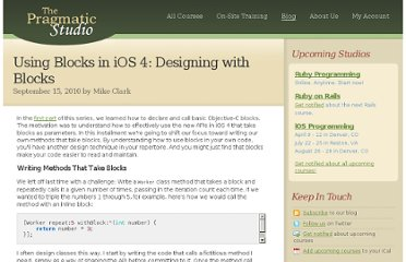 http://pragmaticstudio.com/blog/2010/9/15/ios4-blocks-2