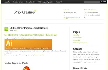http://priorcreative.co.uk/50-illustrator-tutorials-for-designers