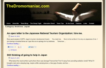 http://thedromomaniac.com/category/japan/