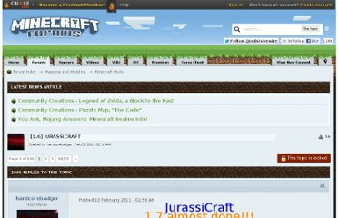 http://www.minecraftforum.net/topic/160263-16-jurassicraft/