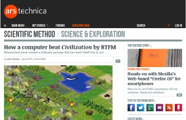 http://arstechnica.com/science/news/2011/07/how-a-computer-beat-civilization-by-rtfm.ars