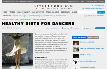 http://www.livestrong.com/article/162703-healthy-diets-for-dancers/
