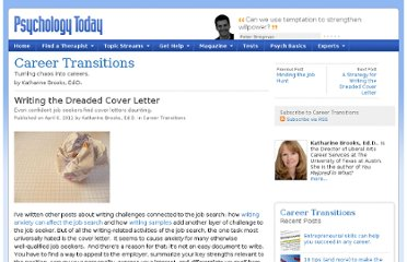 http://www.psychologytoday.com/blog/career-transitions/201104/writing-the-dreaded-cover-letter