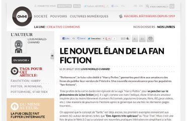 http://owni.fr/2011/07/20/le-nouvel-elan-de-la-fan-fiction-harry-potter/