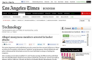 http://latimesblogs.latimes.com/technology/2011/07/fbi-arrest-16-for-cyber-crimes-many-belived-to-be-anonymous-members.html