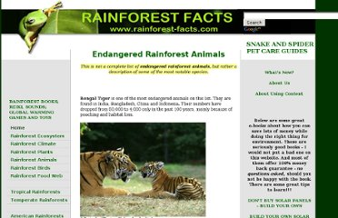 http://www.rainforest-facts.com/endangered-rainforest-animals.html