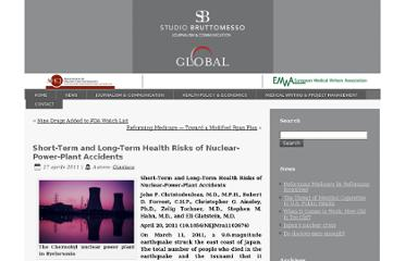 http://www.studiobruttomesso.it/global/short-term-and-long-term-health-risks-of-nuclear-power-plant-accidents