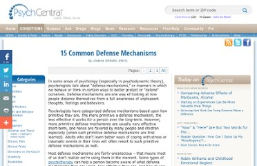 http://psychcentral.com/lib/2007/15-common-defense-mechanisms/