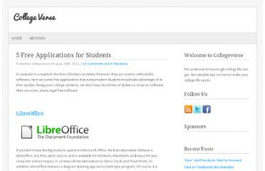 http://collegeverse.com/2011/06/5-free-applications-for-students/