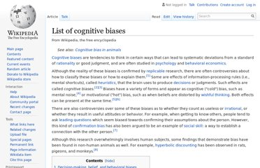 http://en.wikipedia.org/wiki/List_of_cognitive_biases