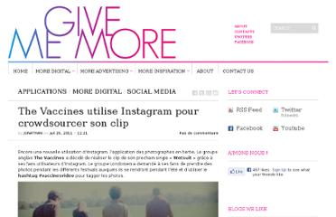 http://www.givememore.net/2011/the-vaccines-utilise-instagram-pour-crowdsourcer-son-clip/