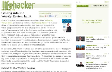 http://lifehacker.com/278118/getting-into-the-weekly-review-habit