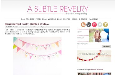 http://asubtlerevelry.com/handcrafted-party-ruffled-style