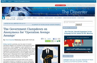 http://dissenter.firedoglake.com/2011/07/20/the-government-clampdown-on-anonymous-for-operation-avenge-assange/