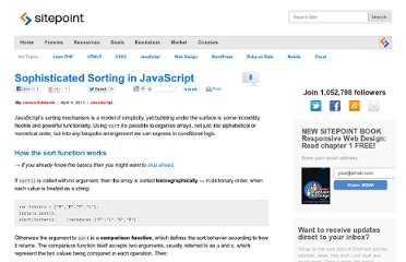 http://www.sitepoint.com/sophisticated-sorting-in-javascript/