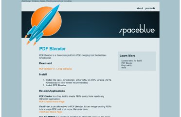 http://www.spaceblue.com/products/pdfblender/index.html