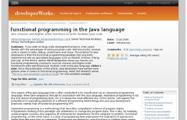 http://www.ibm.com/developerworks/java/library/j-fp/index.html