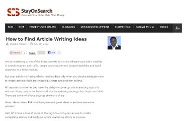 http://www.stayonsearch.com/how-to-find-article-writing-ideas