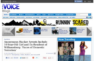 http://blogs.villagevoice.com/runninscared/2011/07/anonymous_arrests_hackers_new_york_stanley_cohen_mercedes_haefer.php